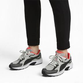 Thumbnail 2 van Axis Plus jaren 90 sneakers, HRise-Blk-CASTLERCK-NRed-Wht, medium