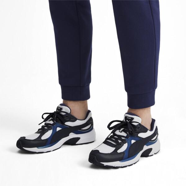 Axis Plus jaren 90 sneakers, White-Peacoat-Galaxy Blue, large