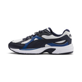 Thumbnail 1 van Axis Plus jaren 90 sneakers, White-Peacoat-Galaxy Blue, medium