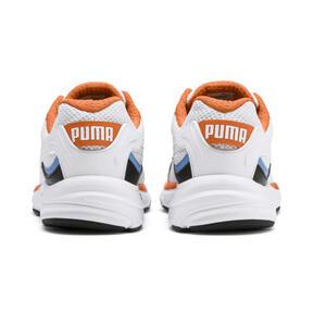 Thumbnail 4 van Axis Plus jaren 90 sneakers, White-Blk-T Lt Blue-J Orange, medium