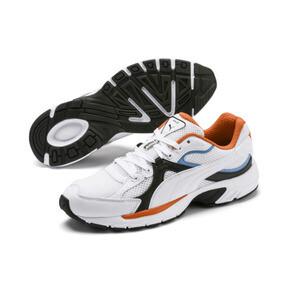 Thumbnail 3 van Axis Plus jaren 90 sneakers, White-Blk-T Lt Blue-J Orange, medium