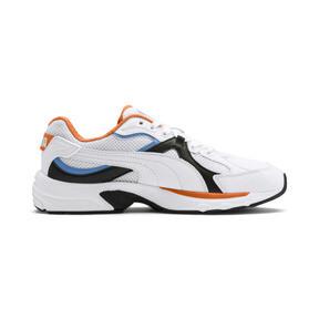 Thumbnail 6 van Axis Plus jaren 90 sneakers, White-Blk-T Lt Blue-J Orange, medium