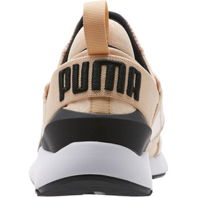 Thumbnail 3 of Muse Metallic Women's Sneakers, Natural Vachetta-Puma Black, medium