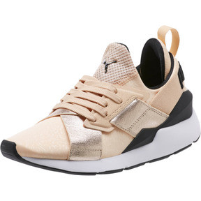 Thumbnail 1 of Muse Metallic Women's Sneakers, Natural Vachetta-Puma Black, medium