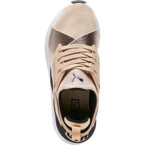 Thumbnail 5 of Muse Metallic Women's Sneakers, Natural Vachetta-Puma Black, medium