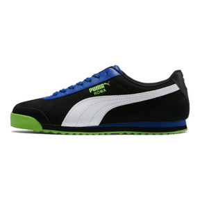 Thumbnail 1 of Roma XTG Perf Men's Sneakers, Puma Black-Surf The Web, medium