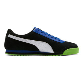 Thumbnail 5 of Roma XTG Perf Men's Sneakers, Puma Black-Surf The Web, medium