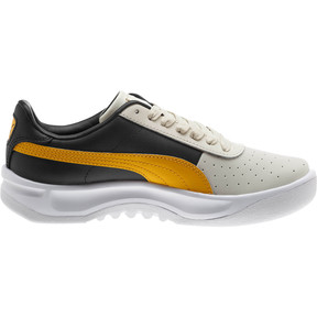 Thumbnail 4 of California PUMA Logo Women's Sneakers, Whisper White-Gold Fusion, medium