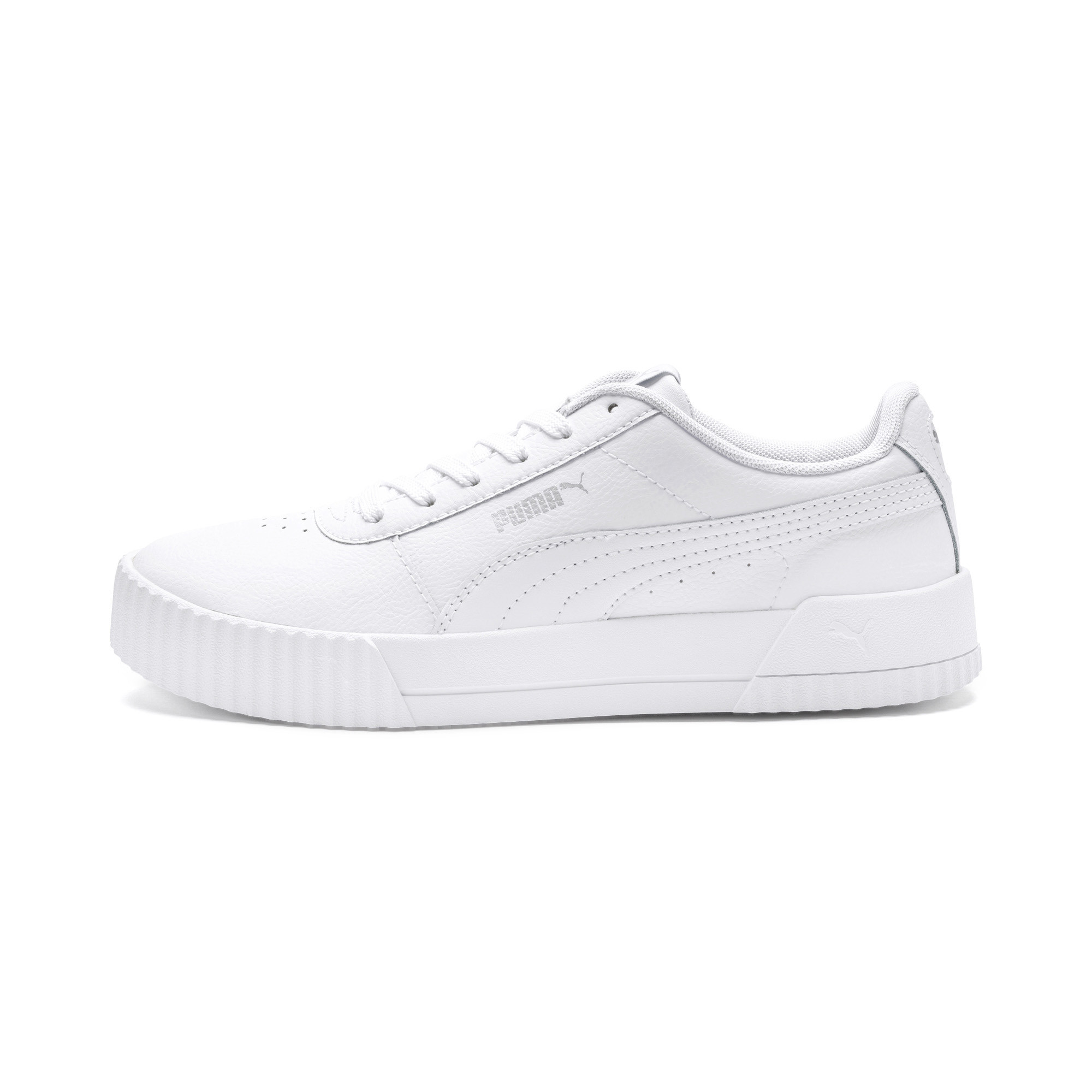 PUMA-Carina-Leather-Women-s-Sneakers-Women-Shoe-Basics thumbnail 4