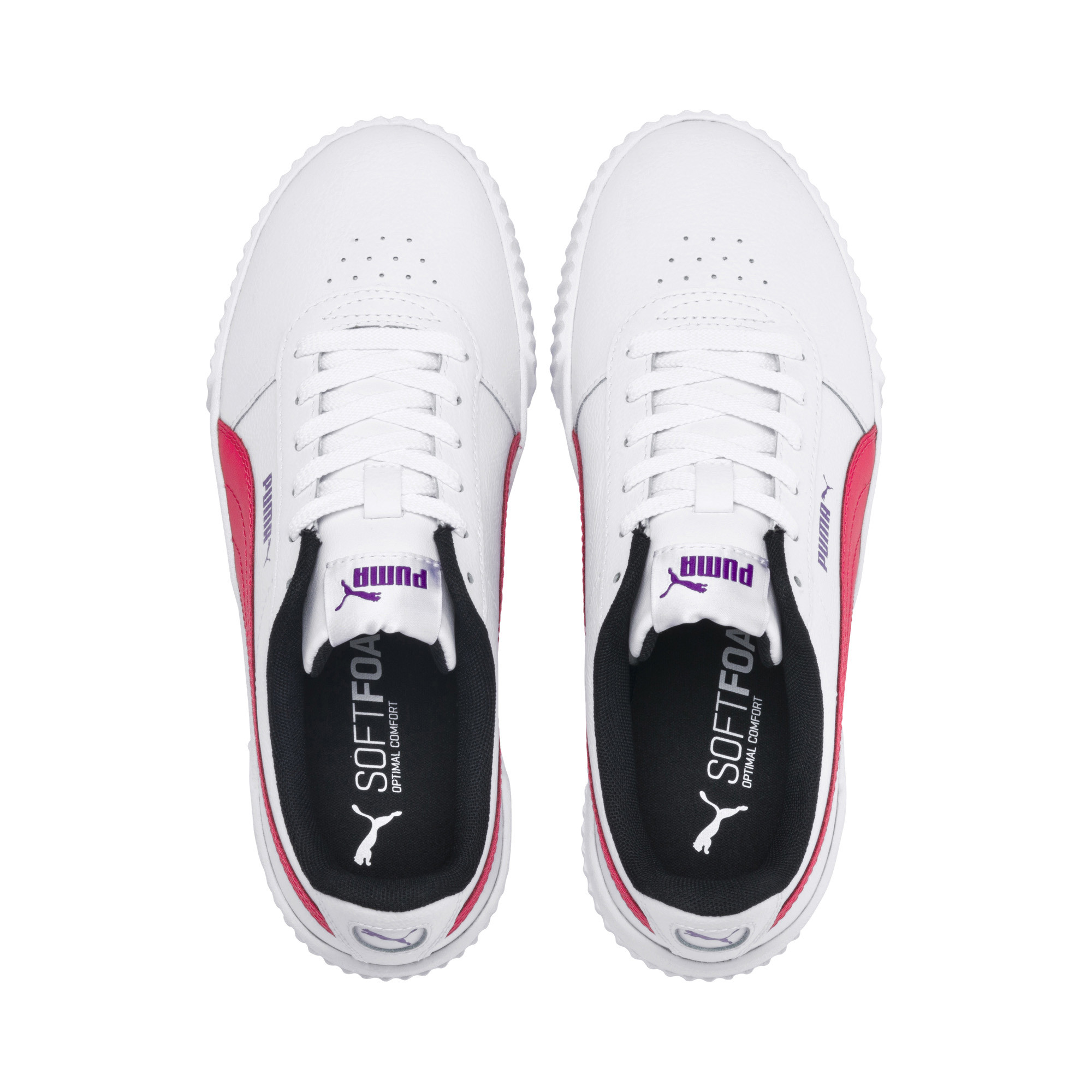 PUMA-Carina-Leather-Women-s-Sneakers-Women-Shoe-Basics thumbnail 20