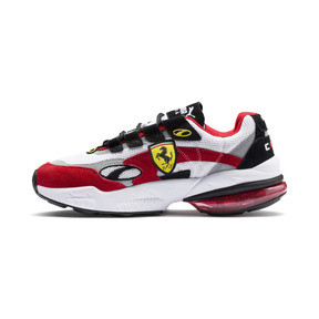Thumbnail 1 of Scuderia Ferrari CELL Venom Sneakers, Puma White-Rosso Corsa, medium