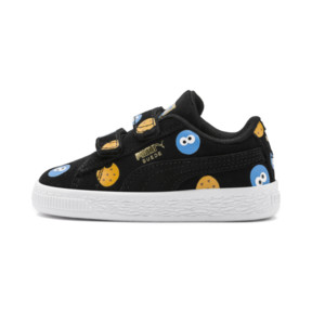 PUMA x SESAME STREET 50 Suede Badge Toddler Shoes