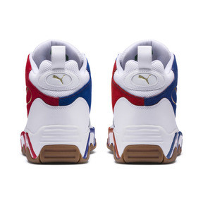 Thumbnail 3 of Source Mid Playoffs Sneakers, Puma White-Surf The Web-, medium
