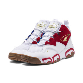 Thumbnail 2 of Source Mid Playoffs Sneakers, Puma White-Surf The Web-, medium