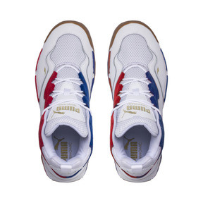 Thumbnail 6 of Source Mid Playoffs Sneakers, Puma White-Surf The Web-, medium