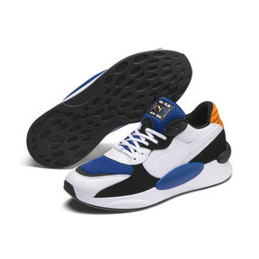 Thumbnail 3 of RS 9.8 Cosmic Sneakers, Puma White-Galaxy Blue, medium