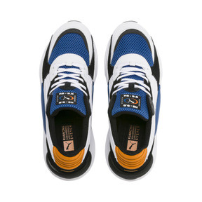 Thumbnail 7 of RS 9.8 Cosmic Sneakers, Puma White-Galaxy Blue, medium
