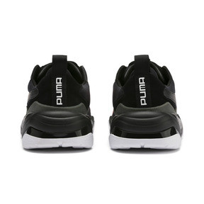 Anteprima 4 di Thunder Fashion 2.0 Trainers, Puma Black-Nrgy Red, medio