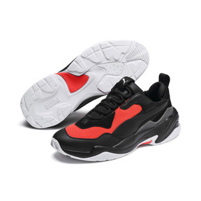 Anteprima 3 di Thunder Fashion 2.0 Trainers, Puma Black-Nrgy Red, medio