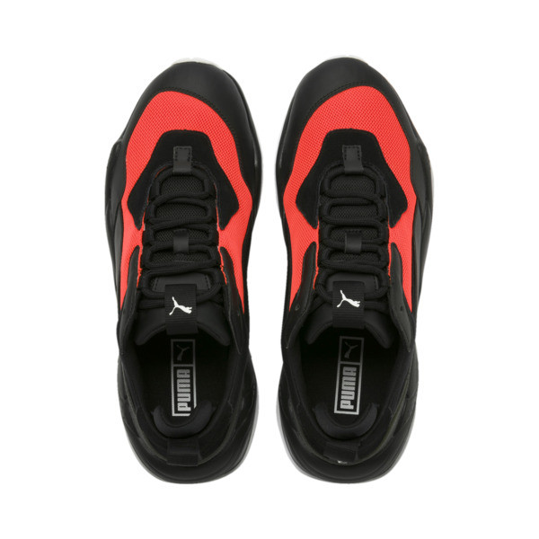 Scarpe da calcio Thunder Fashion 2.0, Puma Black-Nrgy Red, Grande
