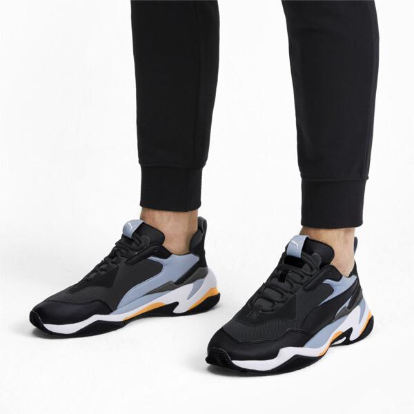Thunder Fashion 2.0 Trainers, P Black-Faded Denim-P White, large