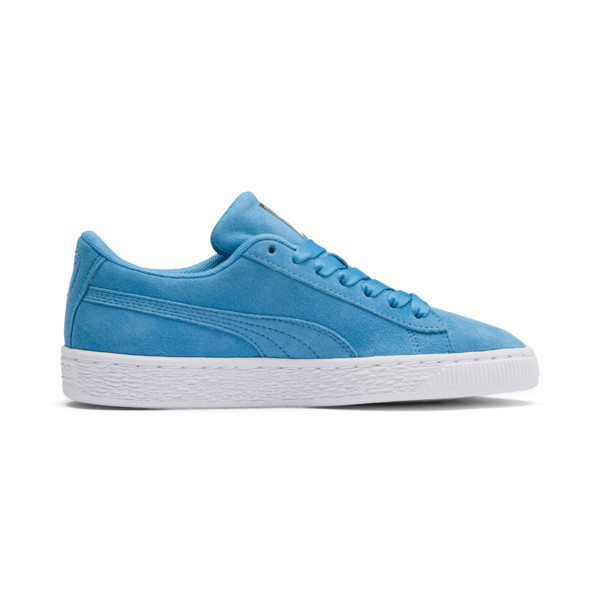PUMA x SESAME STREET 50 Suede Statement Sneakers JR, Bleu Azur-Puma White, large