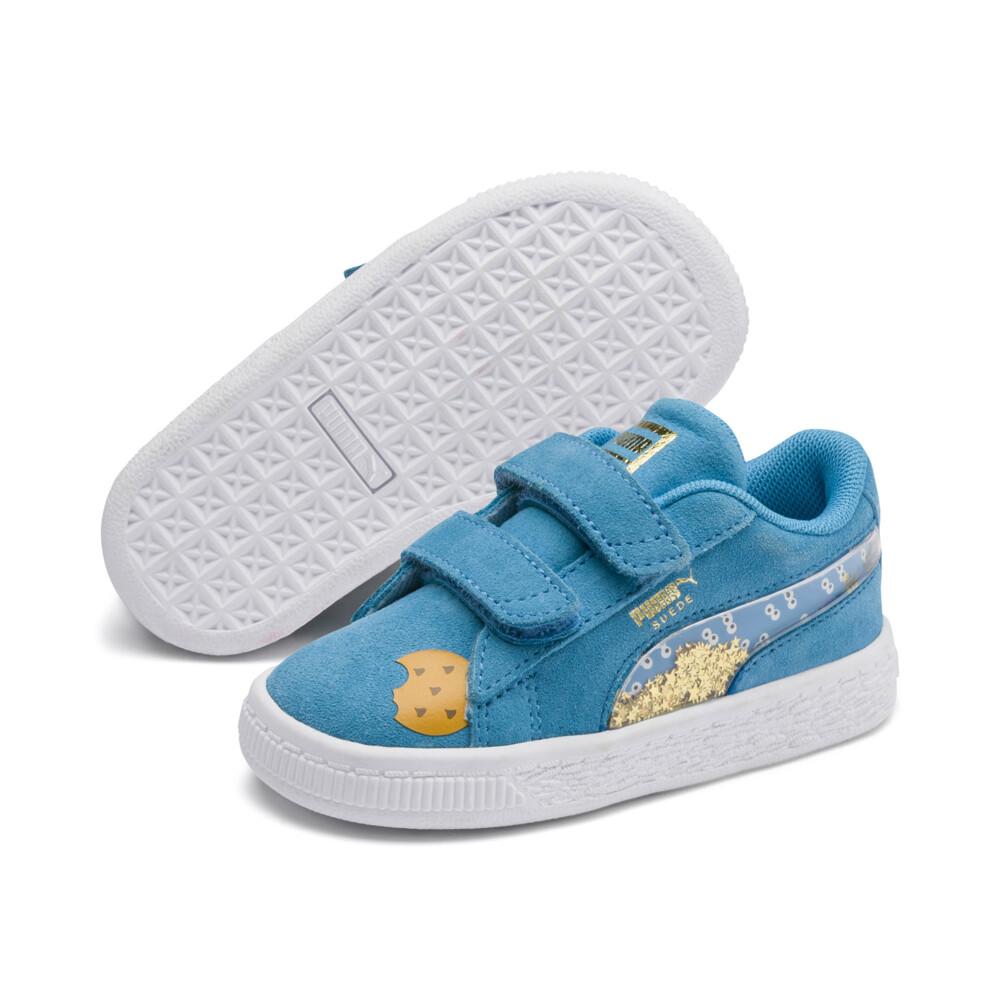 Görüntü Puma SESAME STREET 50 Suede Statement Bebek Ayakkabı #2