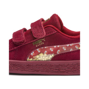 Thumbnail 8 of PUMA x SESAME STREET 50 Suede Statement Toddler Shoes, Rhubarb-Puma White, medium