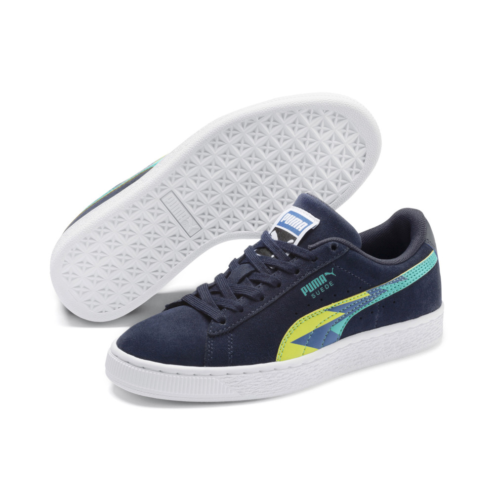 Image Puma Classic Lightning Suede Youth Trainers #2