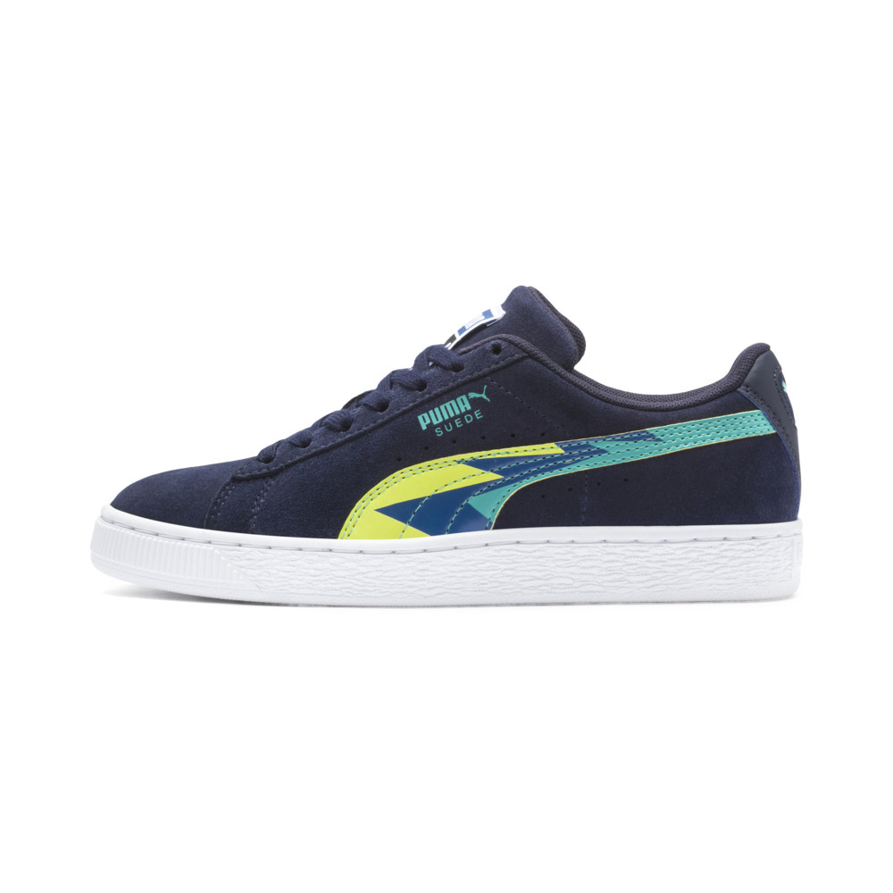 Image Puma Classic Lightning Suede Youth Trainers #1