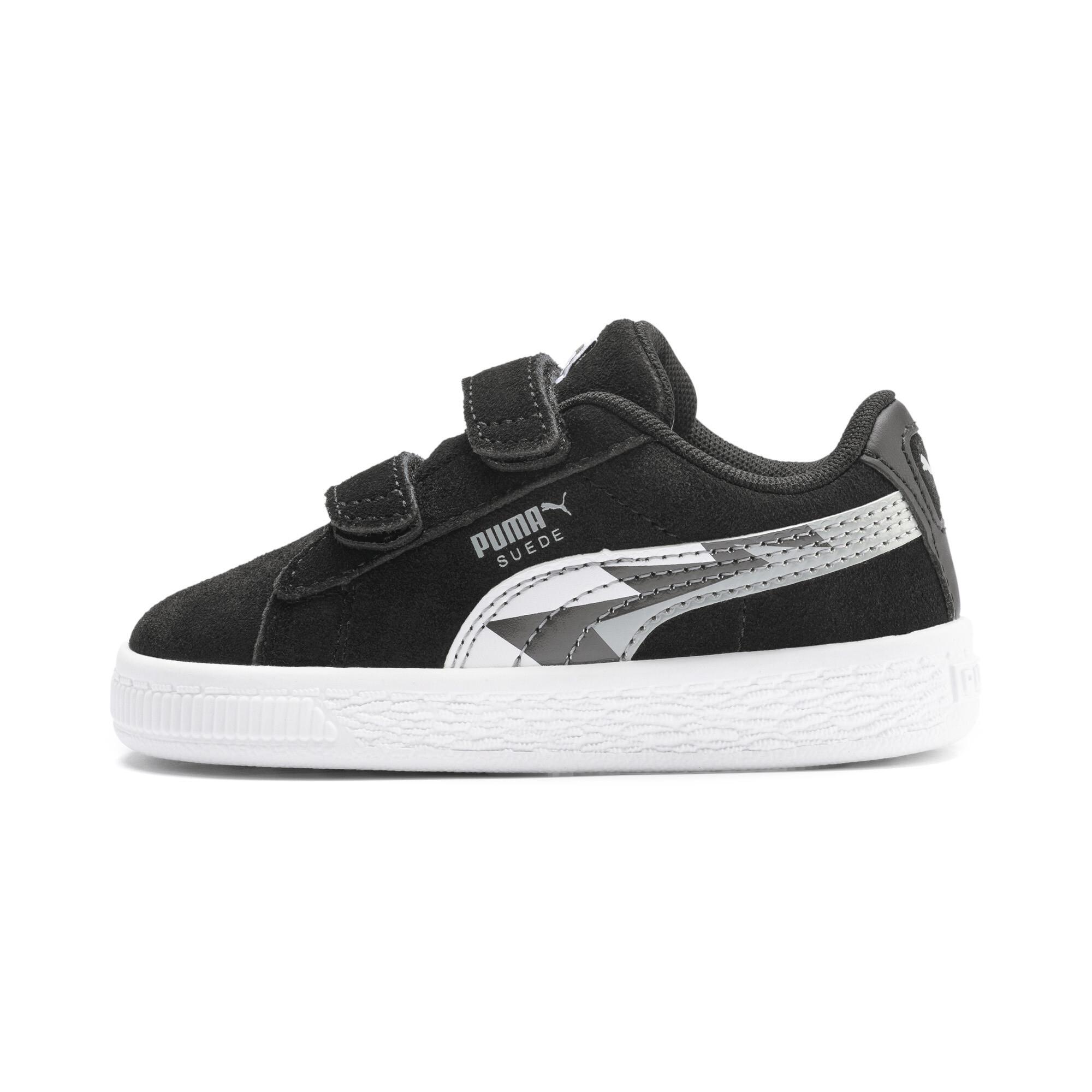 PUMA-Suede-Classic-Lightning-Toddler-Shoes-Boys-Shoe-Kids thumbnail 4