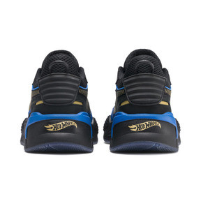 Thumbnail 4 of PUMA x HOT WHEELS RS-X Toys 16 Trainers, Puma Black-Puma Team Gold, medium