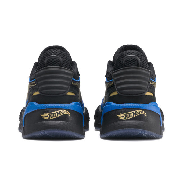 PUMA x HOT WHEELS RS-X Toys 16 Trainers, Puma Black-Puma Team Gold, large