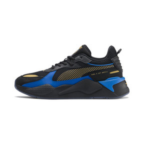 Thumbnail 1 of PUMA x HOT WHEELS RS-X Toys 16 Sneaker, Puma Black-Puma Team Gold, medium