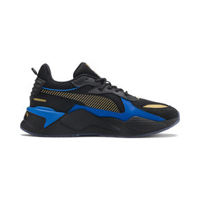 Thumbnail 5 of PUMA x HOT WHEELS RS-X Toys 16 Trainers, Puma Black-Puma Team Gold, medium