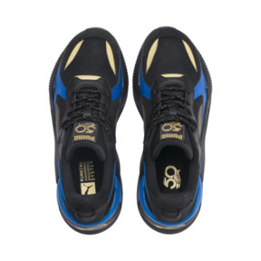 Thumbnail 9 of PUMA x HOT WHEELS RS-X Toys 16 Trainers, Puma Black-Puma Team Gold, medium