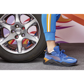 Thumbnail 9 of PUMA x HOT WHEELS RS-X Toys Bone Shaker Trainers, Puma Royal-Puma Black, medium