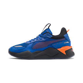 Thumbnail 1 of PUMA x HOT WHEELS RS-X Toys Bone Shaker Trainers, Puma Royal-Puma Black, medium