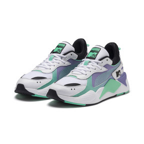 Thumbnail 2 of RS-X Tracks MTV Gradient Blaze Sneakers, Puma White-Sweet Lavender, medium