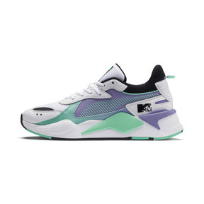 Thumbnail 1 of RS-X Tracks MTV Gradient Blaze Sneakers, Puma White-Sweet Lavender, medium
