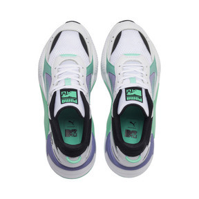 Thumbnail 6 of RS-X Tracks MTV Gradient Blaze Sneakers, Puma White-Sweet Lavender, medium