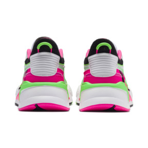 Thumbnail 3 of PUMA x MTV RS-X Tracks Bold Trainers, Puma White-Puma Black-802 C, medium