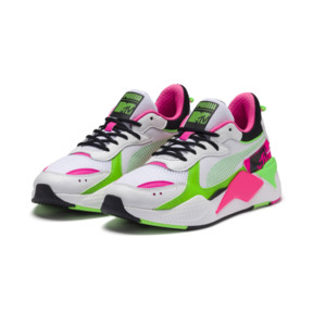 Thumbnail 2 of PUMA x MTV RS-X Tracks Bold Trainers, Puma White-Puma Black-802 C, medium