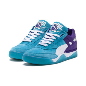Thumbnail 2 of Palace Guard Queen City Sneaker, Blue Atoll-Prism Violet, medium