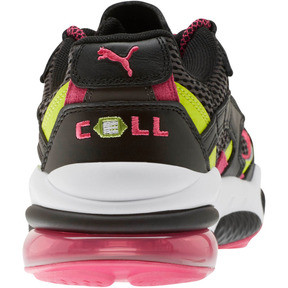 Thumbnail 3 of CELL Venom Fresh Mix Sneakers, Puma Black-Limepunch, medium