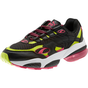 Thumbnail 1 of CELL Venom Fresh Mix Sneakers, Puma Black-Limepunch, medium