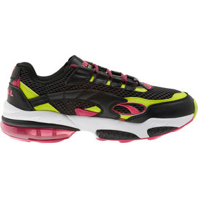 Thumbnail 4 of CELL Venom Fresh Mix Sneakers, Puma Black-Limepunch, medium