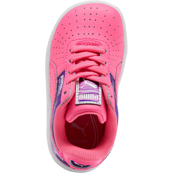 GV Special Mirror Metal Sneakers INF, KNOCKOUT PINK-Puma White, large