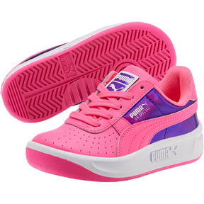 Thumbnail 2 of GV Special Mirror Metal Sneakers PS, KNOCKOUT PINK-Puma White, medium