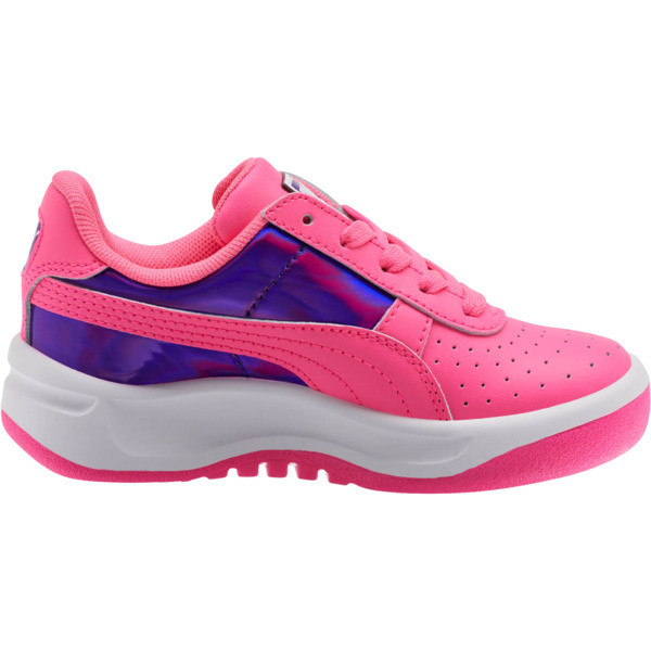 GV Special Mirror Metal Sneakers PS, KNOCKOUT PINK-Puma White, large